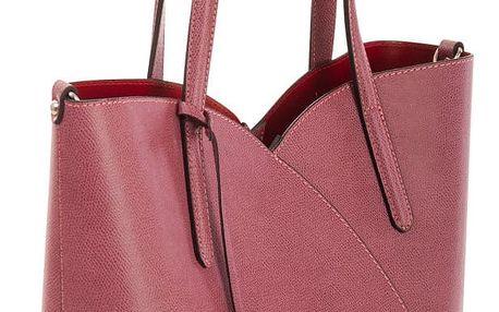 Růžová kabelka z pravé kůže Andrea Cardone Malva Sand - doprava zdarma!