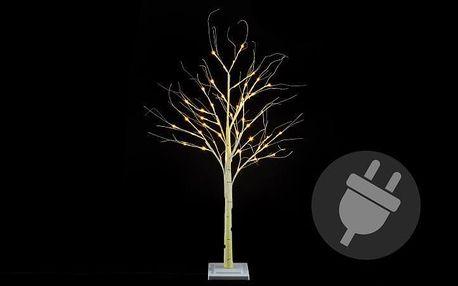 Nexos 41676 Dekorativní strom bříza 120 cm - 48 LED teplá bílá