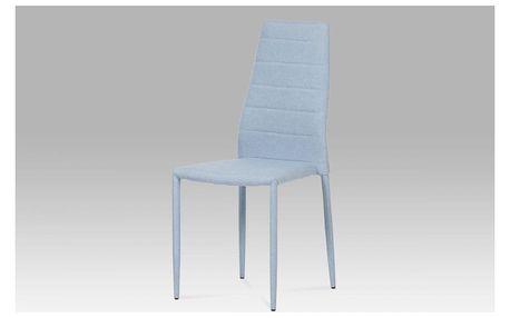 Jídelní židle DCL-423 BLUE 2 modrá Autronic