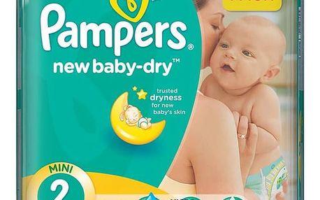 Plenky Pampers New Baby-dry vel.2 Mini, 100ks