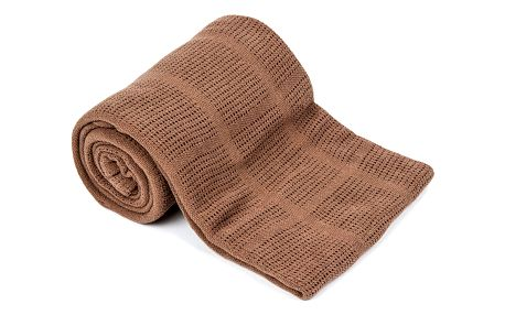 VOG Bavlněná deka hnědá, 150 x 200 cm