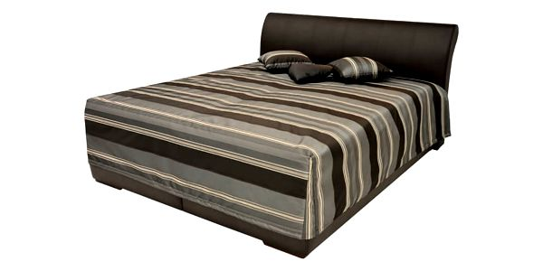 Zvýšená manželská postel MINETA PLUS 2 180x200 cm vč. roštu a ÚP