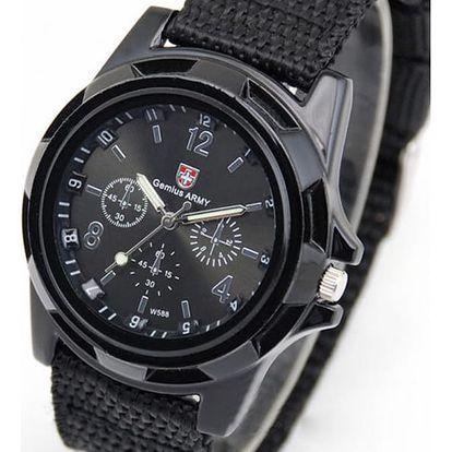 Pánské vojenské hodinky - 3 barvy