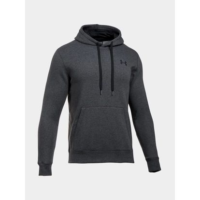 Mikina Under Armour Rival Fitted Pull Over Šedá