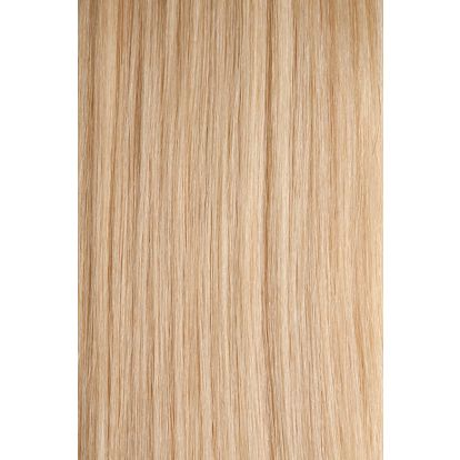 Vlasy s keratinem - 40 cm platinová blond 50 pramenů