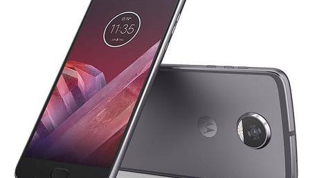 Mobilní telefon Motorola Moto Z2 Play Dual SIM (SM4483AC3N7) šedý Software F-Secure SAFE 6 měsíců pro 3 zařízení v hodnotě 979 Kč + DOPRAVA ZDARMA