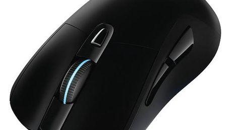 Myš Logitech Gaming G703 Wireless (910-005093) černá Dárek Logitech – Gillette Fusion Proglide Flexball + Doprava zdarma