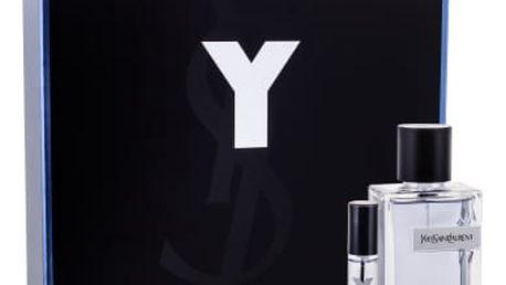 Yves Saint Laurent Y dárková kazeta pro muže toaletní voda 100 ml + toaletní voda 10 ml