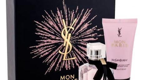 Yves Saint Laurent Mon Paris dárková kazeta pro ženy parfémovaná voda 30 ml + tělové mléko 50 ml