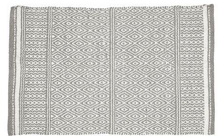 GREEN GATE Koberec Nova grey 70x140 cm, šedá barva, textil