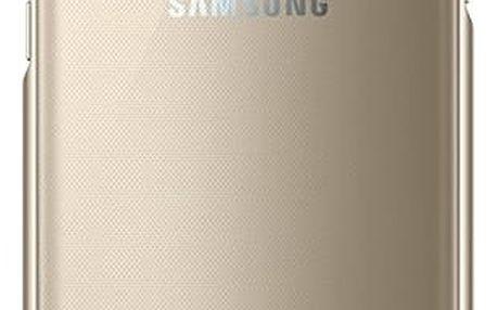 Pouzdro na mobily Samsung EF-QG935C 5.5 Zlatý