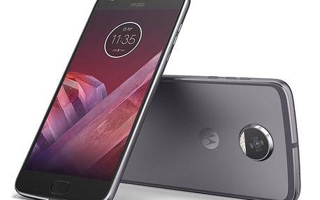 Mobilní telefon Motorola Moto Z2 Play Dual SIM (SM4483AC3N7) šedý + DOPRAVA ZDARMA