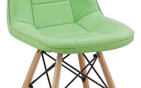 Jídelní židle VERDI zelená