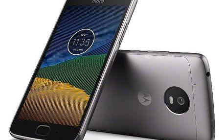 Mobilní telefon Motorola Moto G 5.generace Dual SIM (PA610037CZ) šedý Software F-Secure SAFE 6 měsíců pro 3 zařízení v hodnotě 979 Kč + DOPRAVA ZDARMA