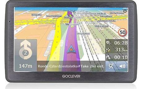 Navigační systém GPS GoClever Navio 2 740 MapFactor Lifetime (GCDN2740NR) černá