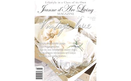 Jeanne d'Arc Living Časopis Jeanne d'Arc Living 8/2016 - anglická verze, multi barva, papír