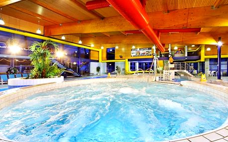Hotel Aquapark Špindlerův Mlýn***, 3* hotel s aquaparkem, polopenzí a vstupem do solné jeskyně