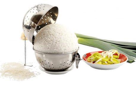Nerezová nádoba na vaření rýže
