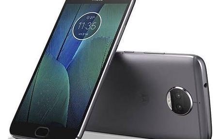Mobilní telefon Motorola Moto G5s Plus Dual SIM (PA6V0096CZ) šedý + Doprava zdarma