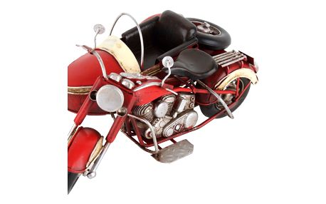Dekorace ve tvaru motorky InArt