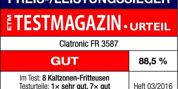 Fritéza Clatronic FR 3587 černá/nerez + Doprava zdarma3