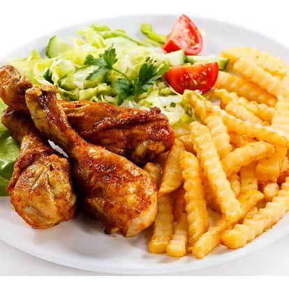 1 kg kuřecích paliček pro 2 až 4 osoby + přiloha