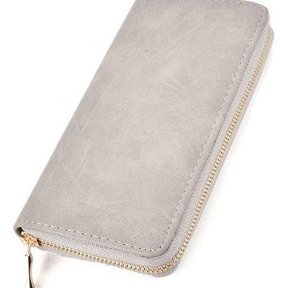 Dámská šedá peněženka Kiana 458