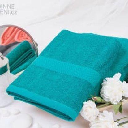 XPOSE ® Froté ručník VERONA - petrolejová 50x90 cm