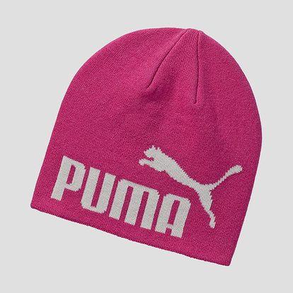Čepice Puma ESS Big Cat Beanie Fuchsia Pur Růžová
