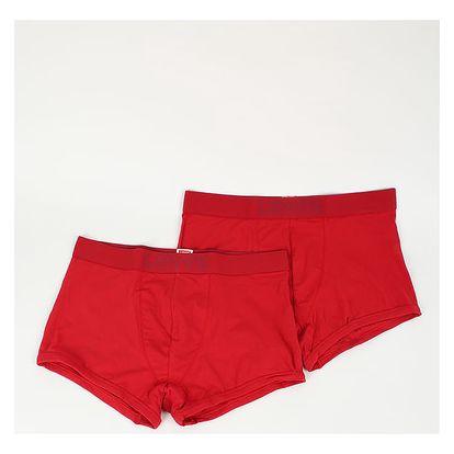 Slipy LEVI'S 200Sf Trunk 2 Pack Červená