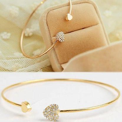 Valentýnské náramky z lásky, krásné šperky, které potěší každou ženu, dívku.