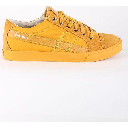 Boty Diesel D-STRING LOW - sneakers Žlutá