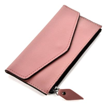 Dámská růžová peněženka Karlee 1502