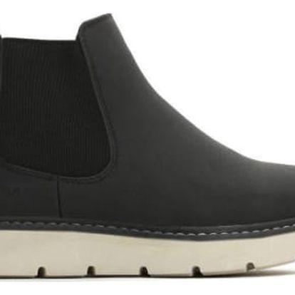 Dámské černé kotníkové boty Beau 055