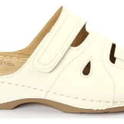 Dámské zdravotní pantofle KOKA 9 bílá