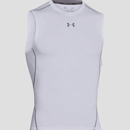 Kompresní tričko Under Armour HG SL Bílá