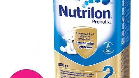 8x NUTRILON 2 ProNutra (800 g) - kojenecké mléko