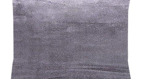 XPOSE ® Povlak na polštář mikroflanel - tmavě šedá 40x40 cm