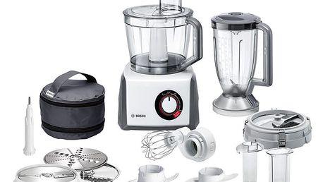 Kuchyňský robot Bosch MCM64085 šedý/bílý + DOPRAVA ZDARMA