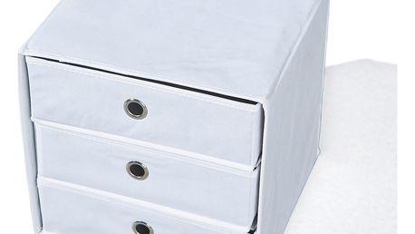Skládací box WILLY bílý