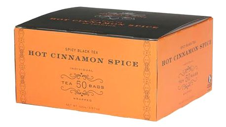 Čaj Hot Cinnamon Spice Harney & Sons 50 sáčků