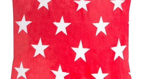 XPOSE ® Povlak na polštář mikroflanel TARA DUO - červená 40x40 cm