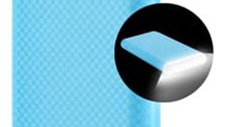 Power Bank GoGEN 8000mAh, svítilna (GOGPBL80004BL) modrá