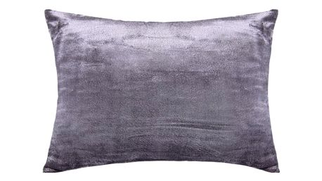 XPOSE ® Povlak na polštář mikroflanel - tmavě šedá 50x70 cm