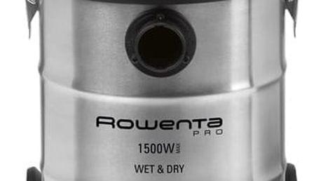 Vysavač víceúčelový Rowenta RU5053EH nerez/oranžový + DOPRAVA ZDARMA