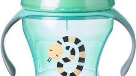 TOMMEE TIPPEE Netekoucí hrnek Explora Easy Drink 230 ml 6m+, zelený