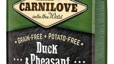 Granule Brit Carnilove Duck & Pheasant for Adult 12 kg + Doprava zdarma