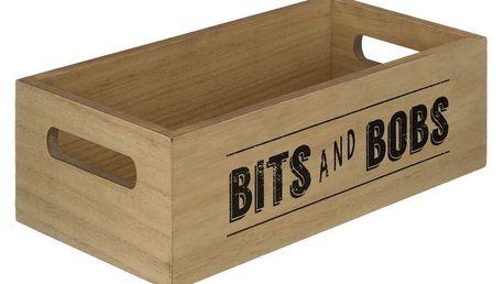 Dřevěný box Premier Housewares Tribeca