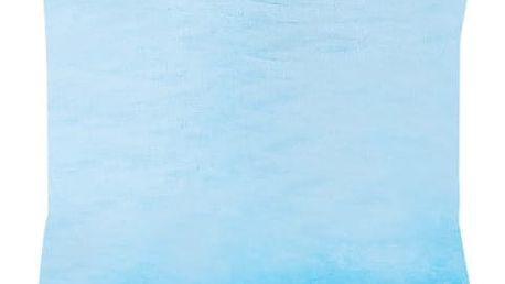 XPOSE ® Povlak na polštář mikroflanel - azurová 40x40 cm