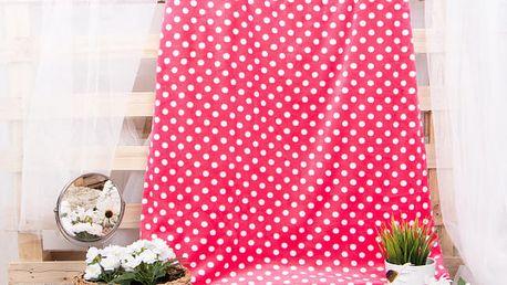 XPOSE ® Deka mikroflanel MARKÉTA - růžová 200x230 cm
